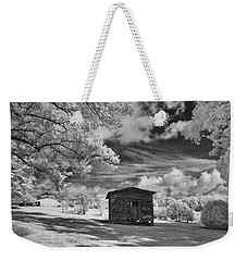 Old Farm Shed  Weekender Tote Bag