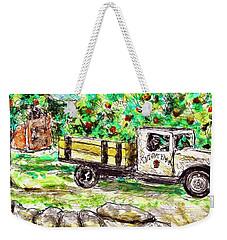 Old Farming Truck Weekender Tote Bag