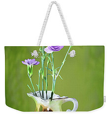Old Fashioned Bouquet Weekender Tote Bag by Shirley Mangini
