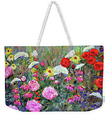 Old Fashioned Garden Weekender Tote Bag