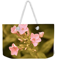 Weekender Tote Bag featuring the photograph Old Fashioned Spring by Corinne Rhode