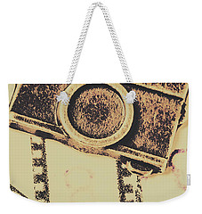 Old Film Camera Weekender Tote Bag