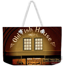 Old Fish House Georgetown South Carolina Weekender Tote Bag by Bob Pardue