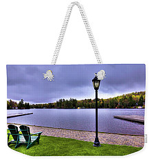 Old Forge Waterfront Weekender Tote Bag by David Patterson