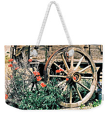 Old Freight Wagon Weekender Tote Bag