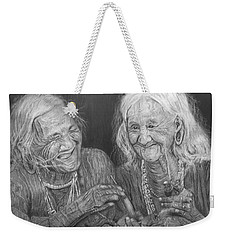 Old Friends, Smokin' And Jokin' 2 Weekender Tote Bag