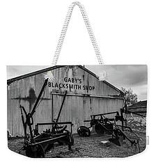 Old Frisco Blacksmith Shop Weekender Tote Bag