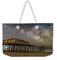 Old Frisco Pier Weekender Tote Bag