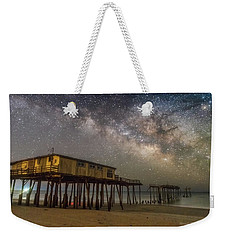 Old Frisco Pier Weekender Tote Bag