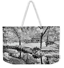 Weekender Tote Bag featuring the photograph Old Frontier House by Paul W Faust - Impressions of Light