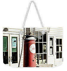 Weekender Tote Bag featuring the photograph Old Fuel Pump by Alexey Stiop