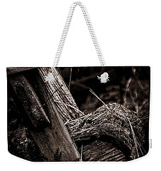 Old Garden Chair. Weekender Tote Bag