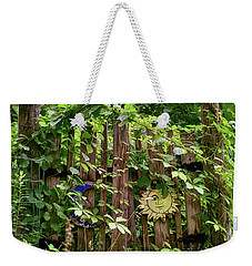 Old Garden Gate Weekender Tote Bag
