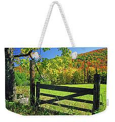 Old Gate At East Orange Weekender Tote Bag