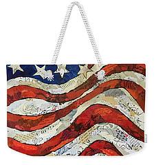 Old Glory II Weekender Tote Bag