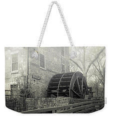 Weekender Tote Bag featuring the photograph Old Graue Mill by Julie Palencia