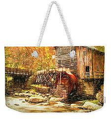 Old Grist Mill Weekender Tote Bag
