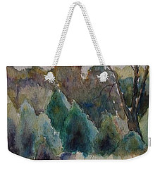 Old Growth Forest Weekender Tote Bag by Patsy Sharpe