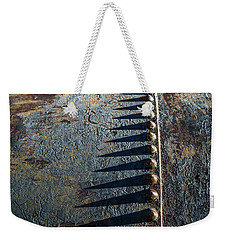 Old Grunge Weekender Tote Bag by Mary Hone