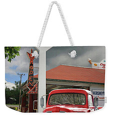 Weekender Tote Bag featuring the photograph Old Guys Rule by Lori Deiter