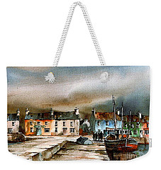 Old Harbour Dingle, Kerry Weekender Tote Bag