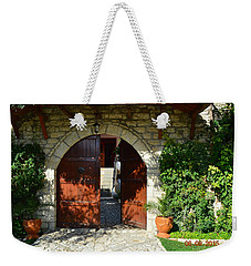 Old House Door Weekender Tote Bag