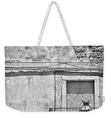Old House In Taormina Sicily Weekender Tote Bag