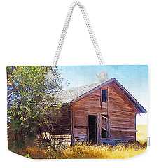 Weekender Tote Bag featuring the photograph Old House by Susan Kinney