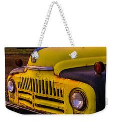 Old International Pickup Weekender Tote Bag by Garry Gay