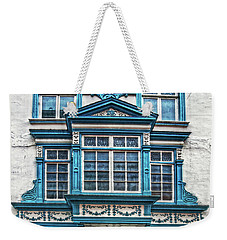 Weekender Tote Bag featuring the digital art Old Irish Architecture by Hanny Heim