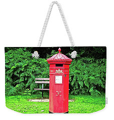 Old Irish Mailbox Weekender Tote Bag