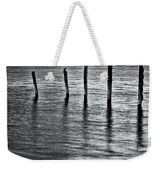 Weekender Tote Bag featuring the photograph Old Jetty - S by Werner Padarin