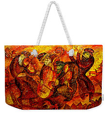 Old Klezmer Band Weekender Tote Bag