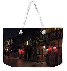 Old Kyoto Lanterns, Gion Japan Weekender Tote Bag