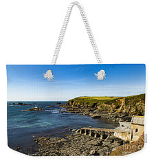 Weekender Tote Bag featuring the photograph Old Life Boat Station by Brian Roscorla