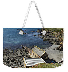 Weekender Tote Bag featuring the photograph Old Lifeboat Station by Brian Roscorla