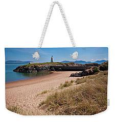 Old Llanddwyn Lighthouse Weekender Tote Bag
