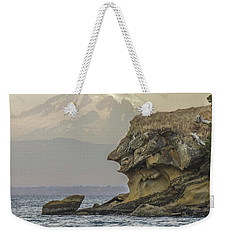 Old Man And The Mountain Weekender Tote Bag