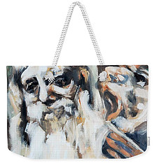Old Men And Their Demons Weekender Tote Bag