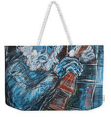 Old Man's Violin Weekender Tote Bag