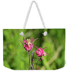 Weekender Tote Bag featuring the photograph Old Man's Whiskers by Ann E Robson