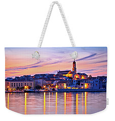 Old Mediterranean Town Of Betina Sunset View Weekender Tote Bag by Brch Photography