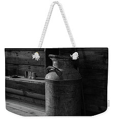 Old Milk Can Weekender Tote Bag