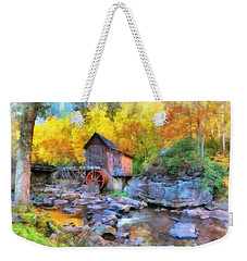 Old Mill Aquarelle Weekender Tote Bag