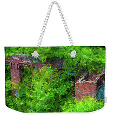 Old Mill Building In Lawrence Massachusetts Weekender Tote Bag