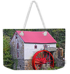 Old Mill Of Guilford Squared Weekender Tote Bag by Sandi OReilly