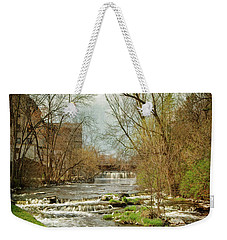 Old Mill On The River Weekender Tote Bag