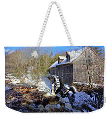 Old Mill On The Tom Tigney River, Nova Scotia Weekender Tote Bag