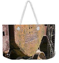 Old Mining Car Weekender Tote Bag by Phyllis Denton
