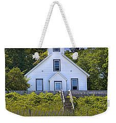 Old Mission Point Lighthouse In Grand Traverse Bay Michigan Number 2 Weekender Tote Bag by Randall Nyhof